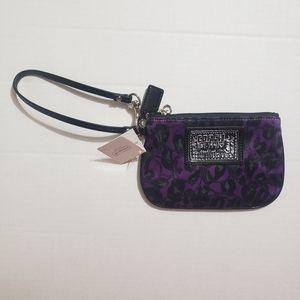 Coach wrislet - Daisy Purple Ocelot print